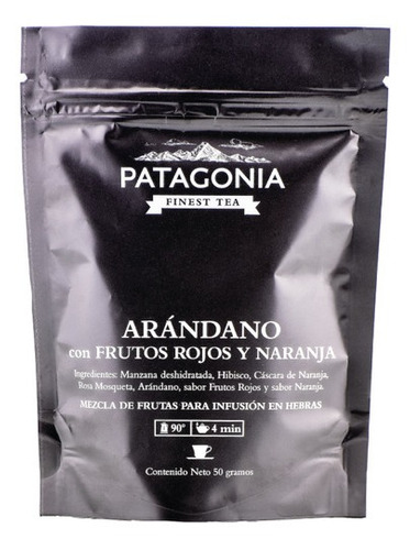 Te Hebras Patagonia Premium Arandano Frutos Rojos