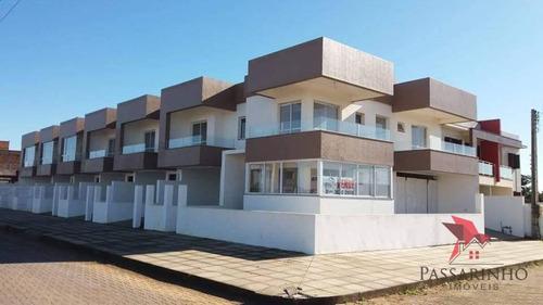 Imagem 1 de 8 de Sobrado Com 2 Dormitórios À Venda, 97 M² Por R$ 350.000,00 - Morada Das Palmeiras - Torres/rs - So0131