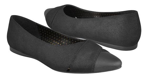 Zapatos Casuales Para Dama Capa De Ozono 382619-1 Negro