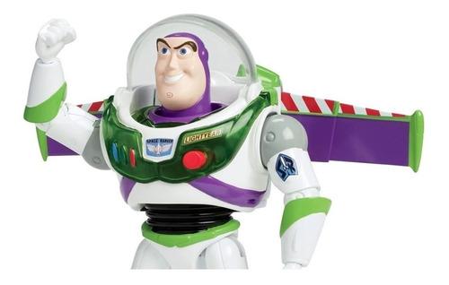 Imagen 1 de 6 de Toy Story 4 Buzz Lightyear Vuelo Espacial  Mattel Bestoys