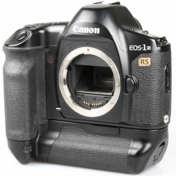 Câmera Analógica 35mm Canon Eos 1n Rs Corpo