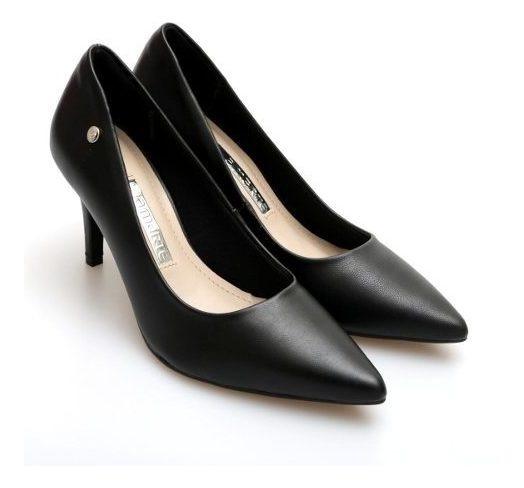 Zapatos Stilletos Via Marte Clasico Taco Fino 8.5 Cm Pu Liso