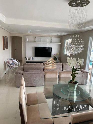Apartamento No Condomínio Supera, 128m², 3 Dormitórios, 3 Suítes, 3 Vagas, Vista Livre. - Ap1188
