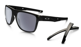 Oculos Solar Oakley Crossrange Xl 9360 0158 Polished Black