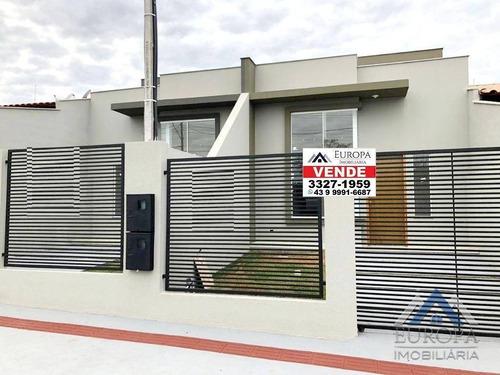 Imagem 1 de 19 de Casa Com 3 Dormitórios À Venda, 64 M² Por R$ 240.000,00 - Parigot De Souza - Londrina/pr - Ca0983