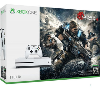 Consola Xbox One S 1tb + Juego Gears Of War 4 +4k+ Control