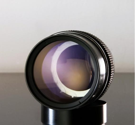 Lente Pentacon 200mm -15 Lamin. + Adaptad. Sony E Mount