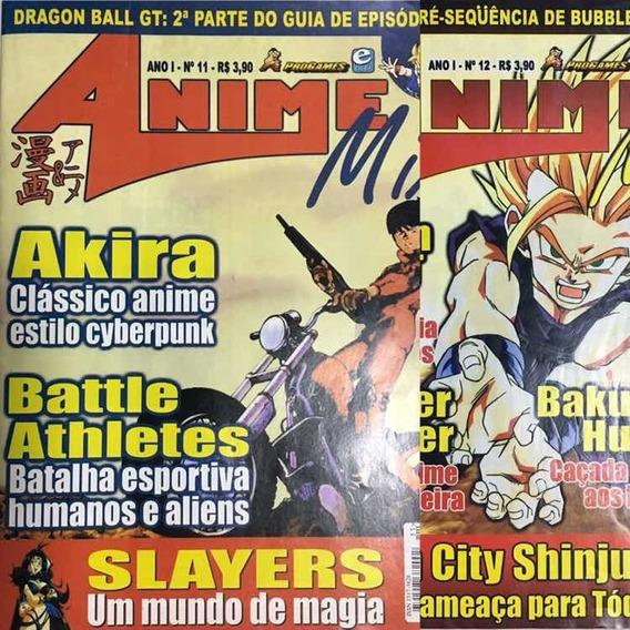 Revista Anime Mix Vol 11 E 12