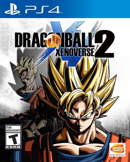 Dragon Ball Xenoverse 2 Original 1 Ps4 O Jogo É Primaria E Vitalicia Promoção