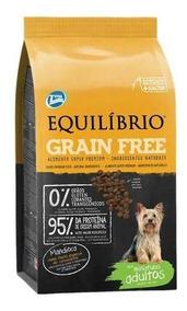 Ração Total Equilibrio Grain Free Adultos Raça Mini 7,5 Kg