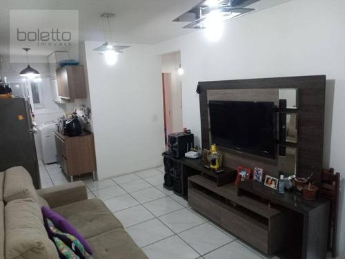 Apartamento Com 3 Dormitórios À Venda, 63 M² Por R$ 215.000,00 - Igara - Canoas/rs - Ap1698
