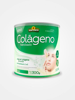 Colageno Hidrolizado Instantaneo 300gr Sabor Limao