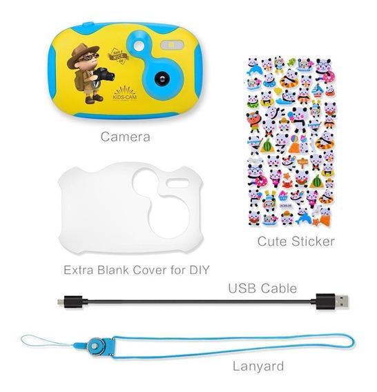 Amkov Câmera Crianças Azul + Branco Cd-df