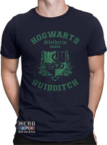 Camisetas Harry Potter Slytherin Sonserina James Pottermore