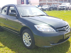 Honda Civic 1.7 Lx 4p 2006 Impecavel Unico Dono!