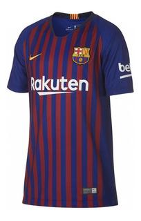 Camiseta Infantil Nike Barcelona 2018 894458 | Katy Calçados