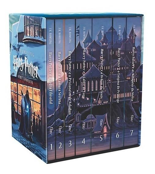 Box Livros Harry Potter - 7 Livros Completo Coleção Novo