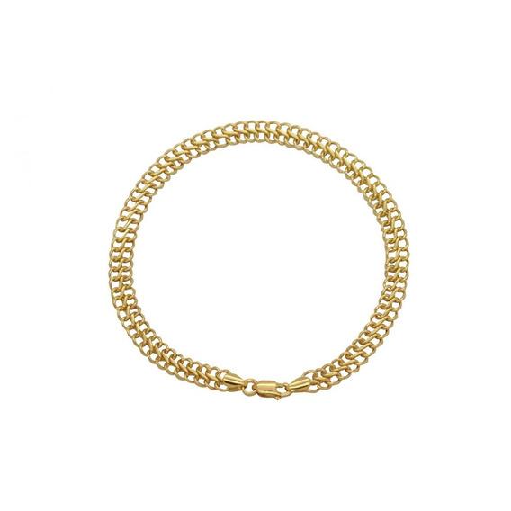 Pulseira Lacraia Em Ouro 18k - Ov/8875
