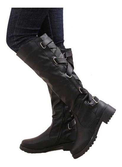Zapatos De Invierno Para Mujeres Con Forro Cálido Botas Par