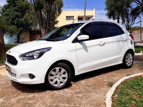 Ford Ka 1.0 Se Flex Com 4 Pneus Novos E Apenas 49,358 Km