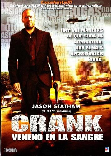 Crank Veneno En La Sangre Jason Statham Dvd Original Mercado Libre