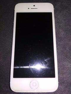 Celular iPhone 5 16gb Branco Usado