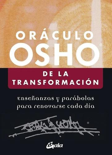 Imagen 1 de 2 de Libro Oráculo Osho De La Transformación - Osho