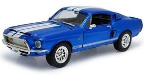 1968 Shelby Gt-500kr Azul - Escala 1:18 - Yat Ming