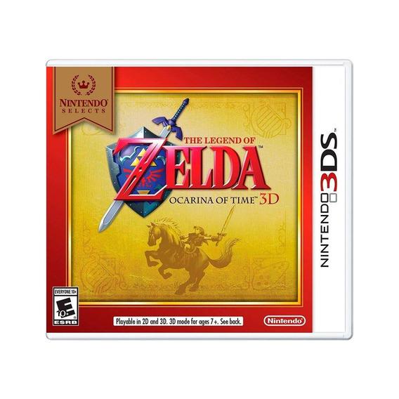 The Legend Of Zelda Ocarina Of Time 3d 3ds Mídia Física Novo