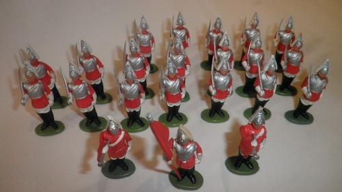 Life Guard Soldaditos Herald Britains Originales 1960 X Unid