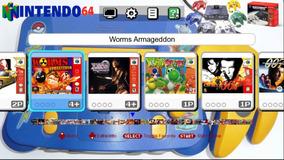 Mini Nintendo 64 Classic Edition Com 300 Jogos No Seu Pc.not