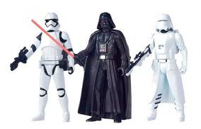 Figura Star Wars Darth Vader 15 Cm 3 Bonecos Originais