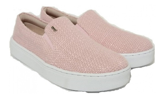 Slip On Santa Lolla Tramado Quartzo Infantil - Original - Nf