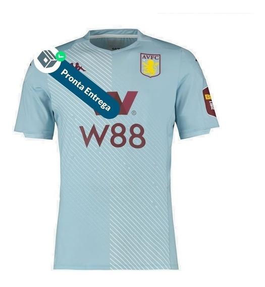 Camisa Aston Villa 2º Unif. 19/20 - Pronta Entrega
