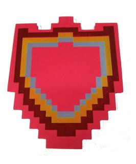 Escudo Minecraft Goma Eva Diamante O Fuego - Villa Urquiza
