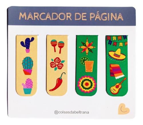 Kit 4 Marcadores De Páginas Magnéticos Exclusivos México