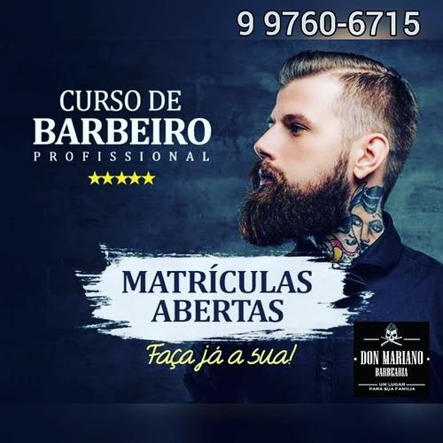 Curso De Barbeiro Com Certificado Nacional
