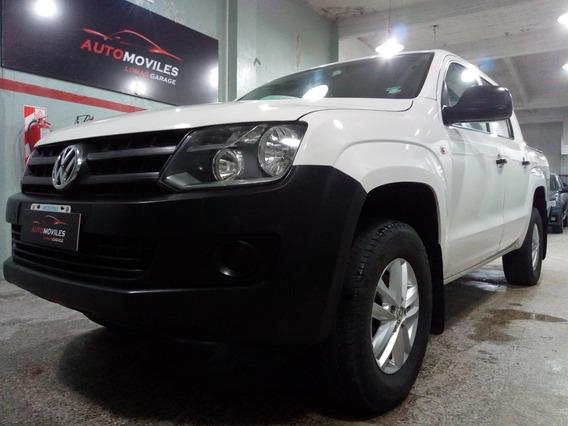 Volkswagen Amarok 2.0 4x2 Startline Ant $399900 Y Ctas Fijas
