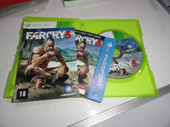 Farcry 3 Xbox 360 Midia Fisica Original Brasil