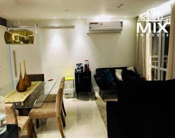 Apartamento Com 2 Dormitórios Para Alugar, 54 M² Por R$ 1.900/mês - Centro - Guarulhos/sp - Ap0749