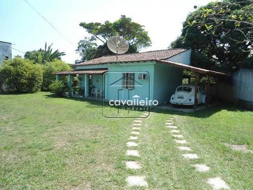 Chácara Residencial À Venda, Inoã, Maricá - Ca0752. - Ch0027