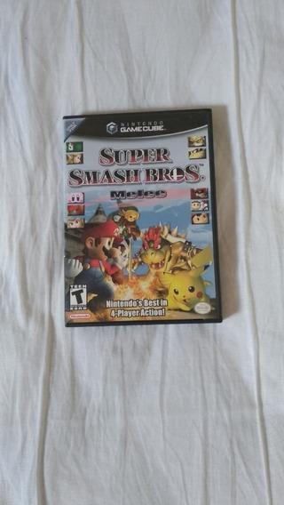 Jogo Super Smash Bros Melee Original Para Nintendo Game Cube