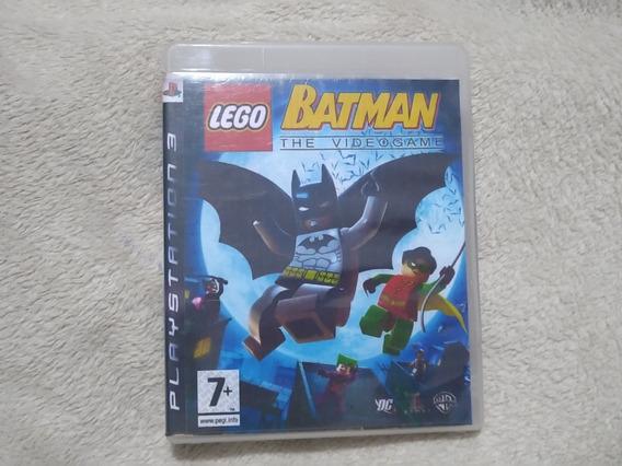 Lego Batman The Video Game Ps3 Com Manual