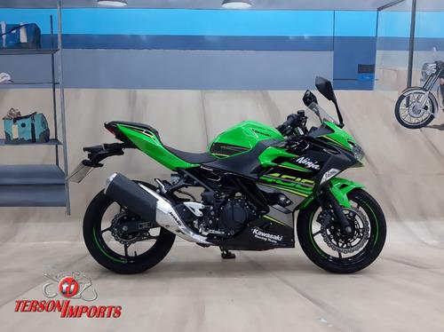 Kawasaki Ninja 400 Abs 2019 Verde