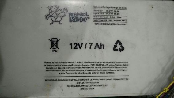 Bateria Para Alarme Play Net Battery 12v Ah 13.v Residencia