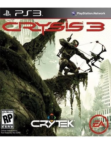 Crysis 3 Playstation 3 Ps3 Digital Original