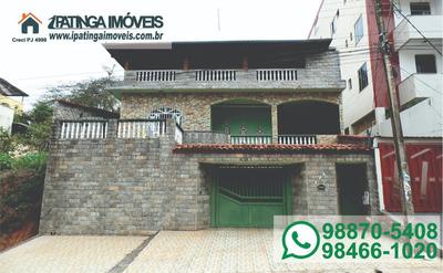 Casa Para Venda, 3 Dormitórios, Caravelas - Ipatinga - 289