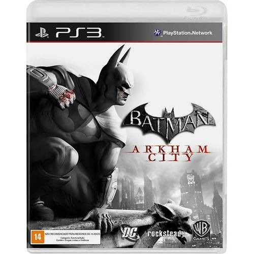 Jogo Batman Arkham City Ps3 Original Midia Fisica