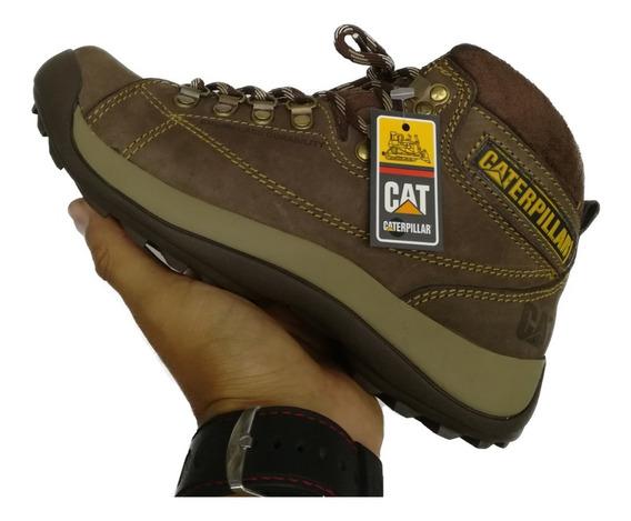 Botas Zapatos Caterpillar, Calzado En Cuero Cat Para Hombre