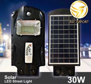 Lámpara Solar Led Inalámbrica Con Control 30w !somos Tienda!